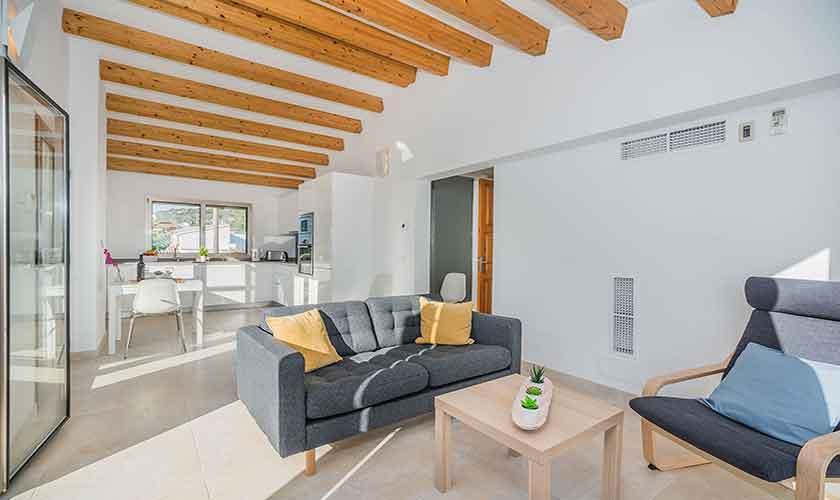 Wohnraum oben Ferienhaus Mallorca PM 3327