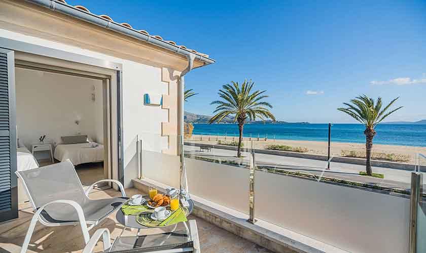 Terrasse oben Ferienhaus Mallorca PM 3327