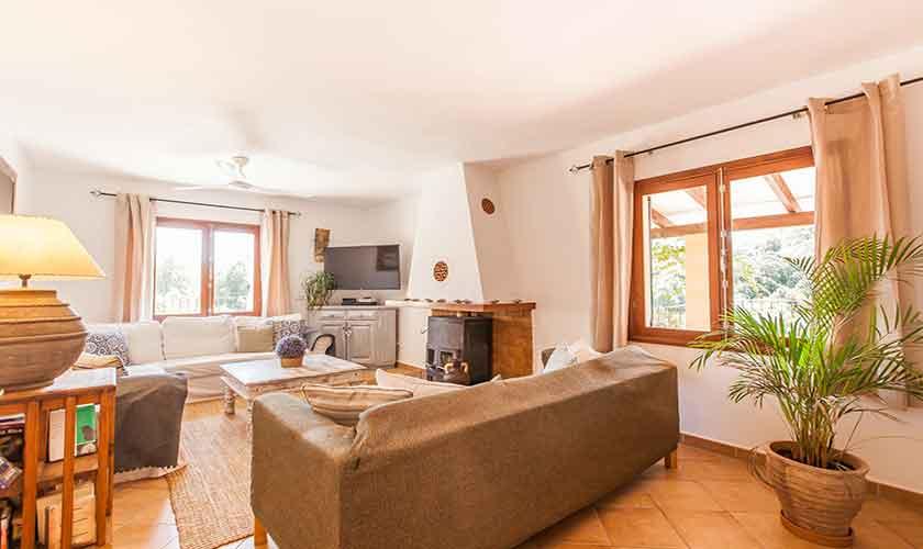 Wohnraum Finca Mallorca 10 Personen PM 3331