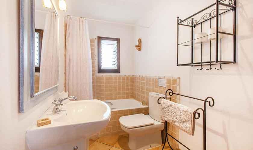 Badezimmer Finca Mallorca 10 Personen PM 3331