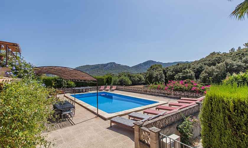 Poolblick Finca Mallorca 10 Personen PM 3331