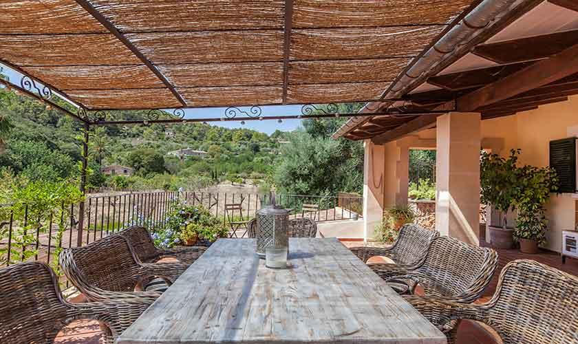 Terrasse und Finca Mallorca 10 Personen PM 3331
