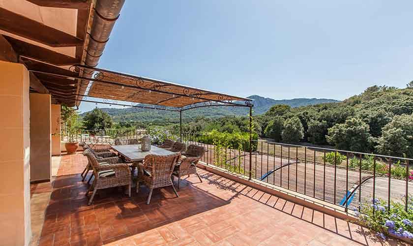 Terrasse Finca Mallorca 10 Personen PM 3331