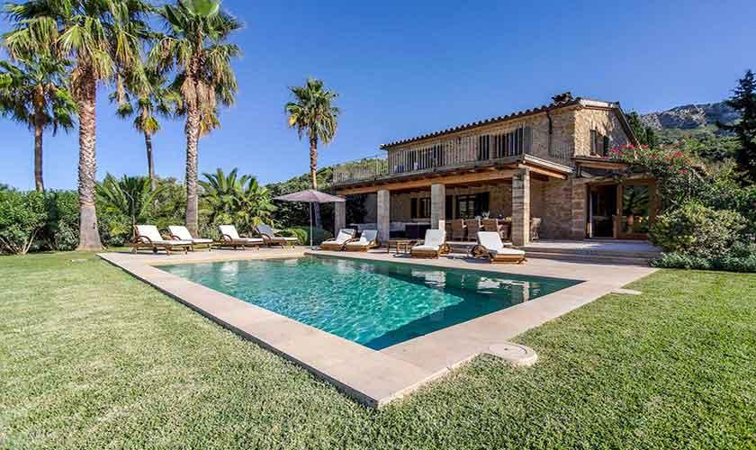Pool und Garten Finca Mallorca PM 3332