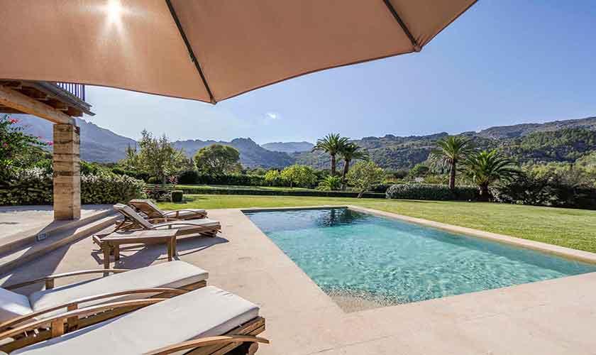 Pool und Terrasse Finca Mallorca PM 3332