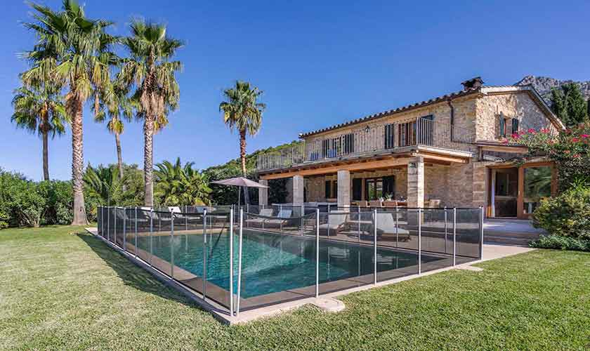 Pool umzäunt Finca Mallorca PM 3332