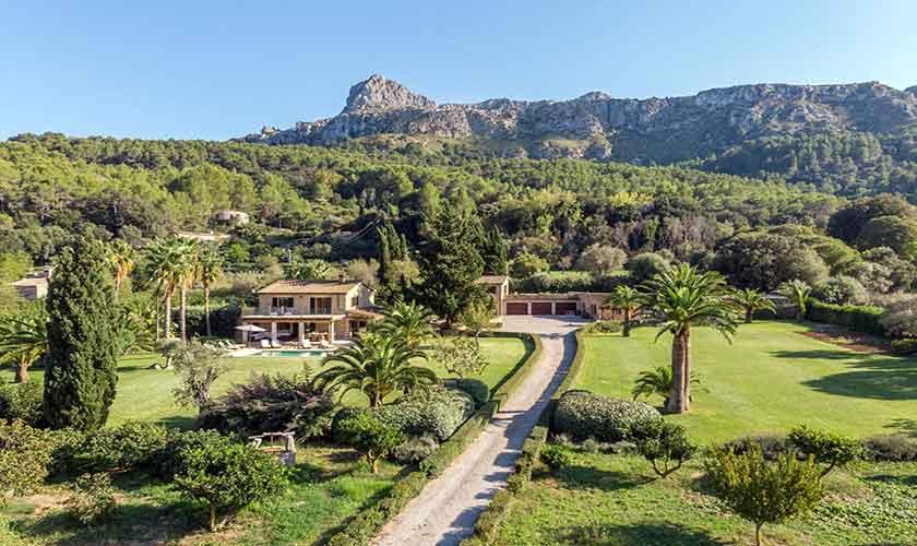 Blick auf die Finca Mallorca PM 3332