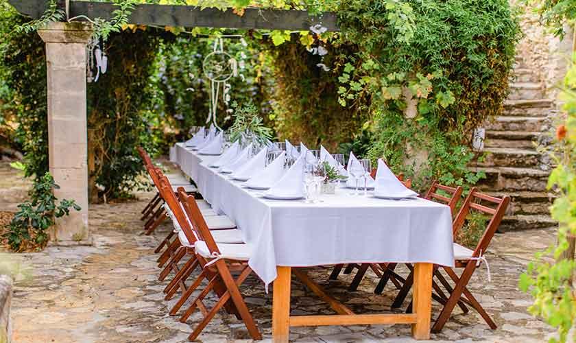 Esstisch Terrasse Finca Mallorca PM 336