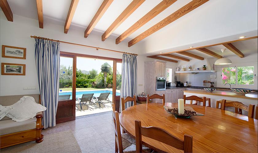 Küche Finca Mallorca Norden PM 3407