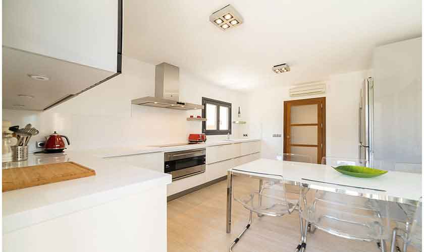 Küche Ferienvilla Mallorca Norden PM 3410