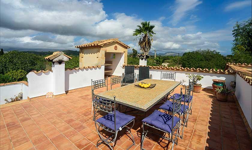 Dachterrasse Finca Mallorca PM 3415