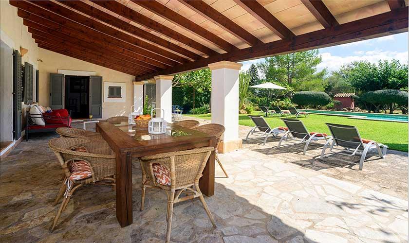 Terrasse Finca Mallorca PM 3415