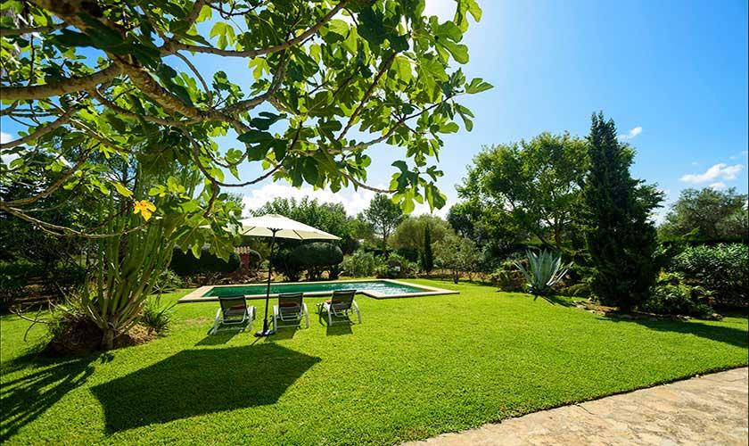 Garten und Rasenflächen Finca Mallorca PM 3415