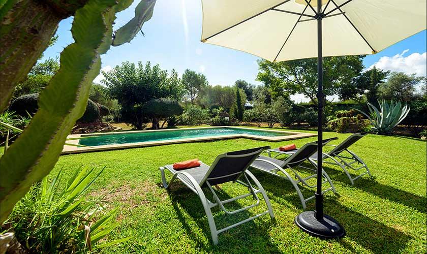 Pool und Garten Finca Mallorca PM 3415