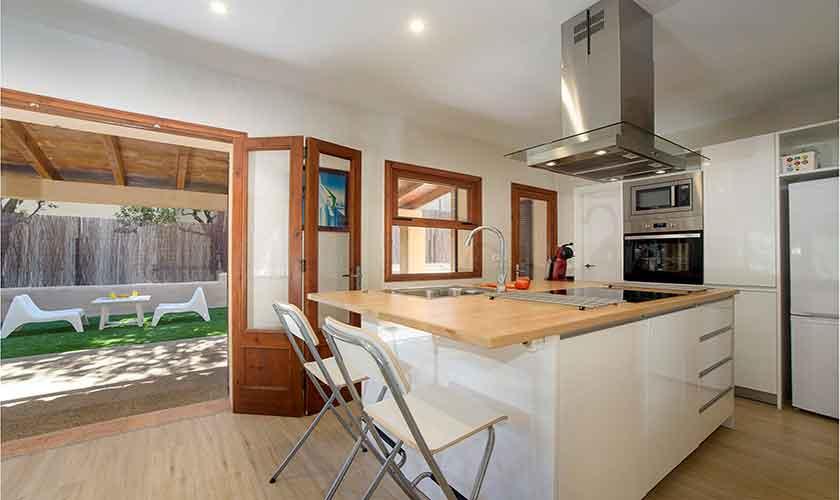 Küche Ferienhaus Mallorca Norden PM 3415
