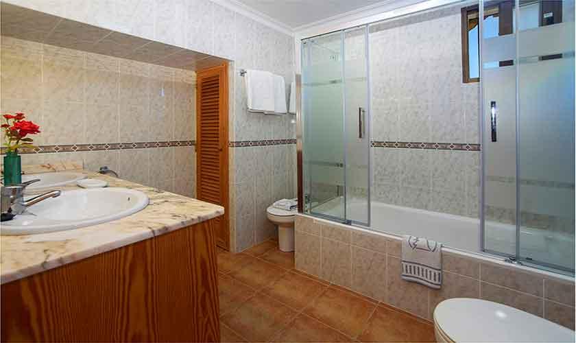 Badezimmer Finca Mallorca für 4-5 Personen PM 3418