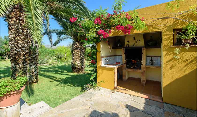 Grillhaus Finca Mallorca für 4-5 Personen PM 3418