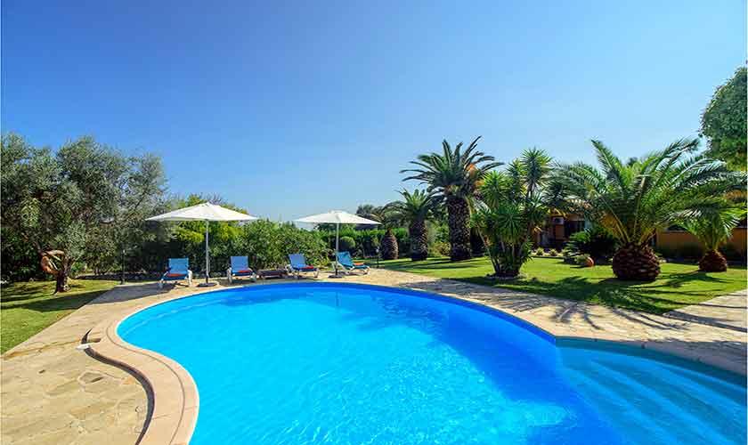 Pool Finca Mallorca für 4-5 Personen PM 3418
