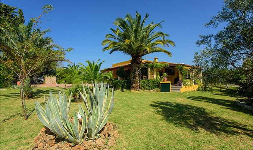 Garten Finca Mallorca für 4-5 Personen PM 3418