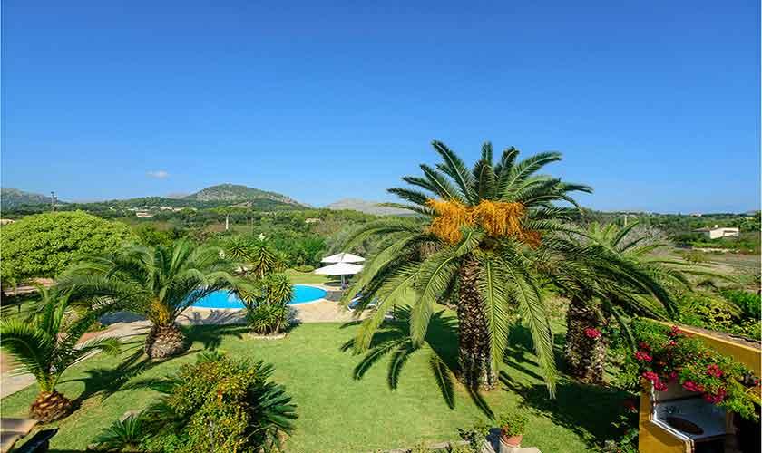 Pool und Garten Finca Mallorca für 4-5 Personen PM 3418