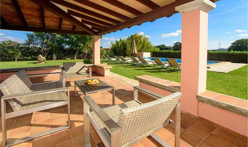 Terrasse Finca Mallorca 8 Personen PM 3422