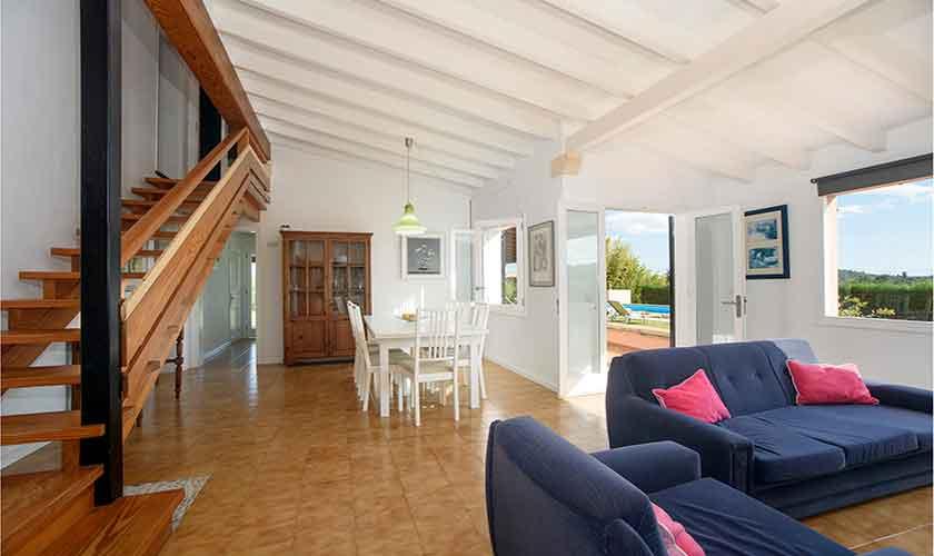 Wohnraum Finca Mallorca 8 Personen PM 3422