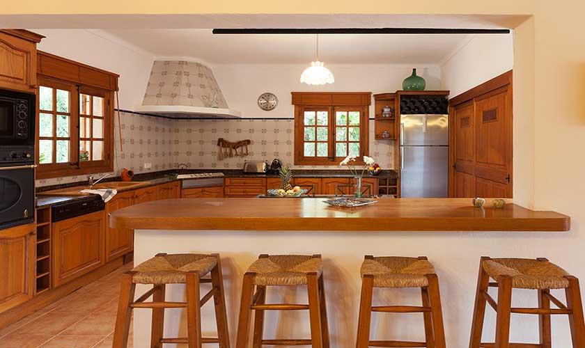 Küche Ferienfinca Mallorca PM 3425