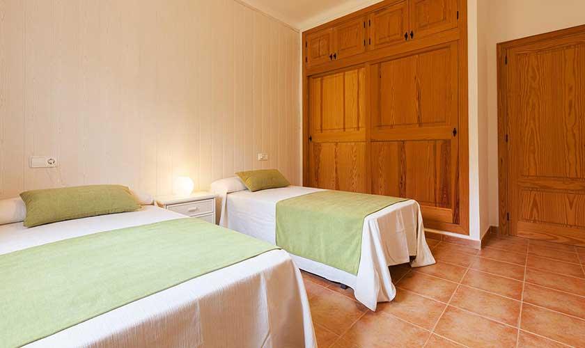 Schlafzimmer Ferienfinca Mallorca PM 3425