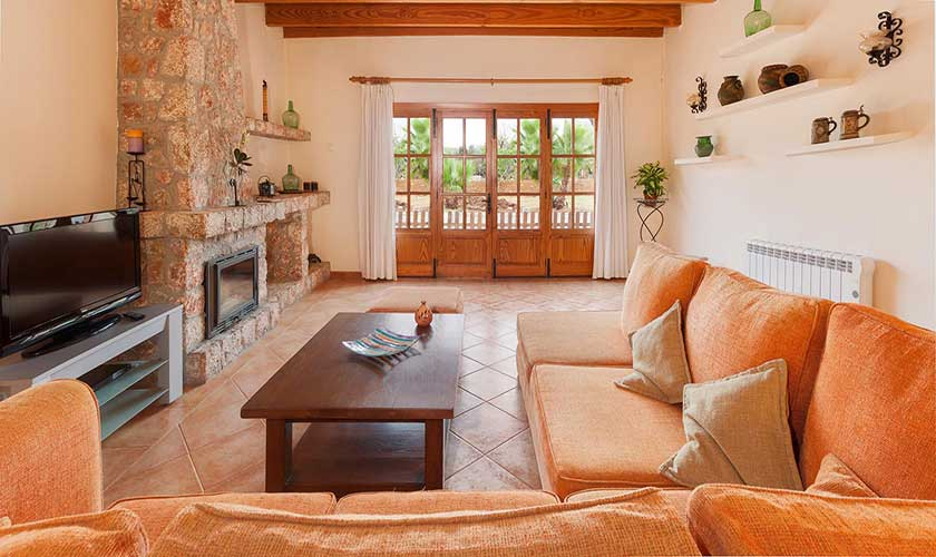 Wohnraum Ferienfinca Mallorca PM 3425