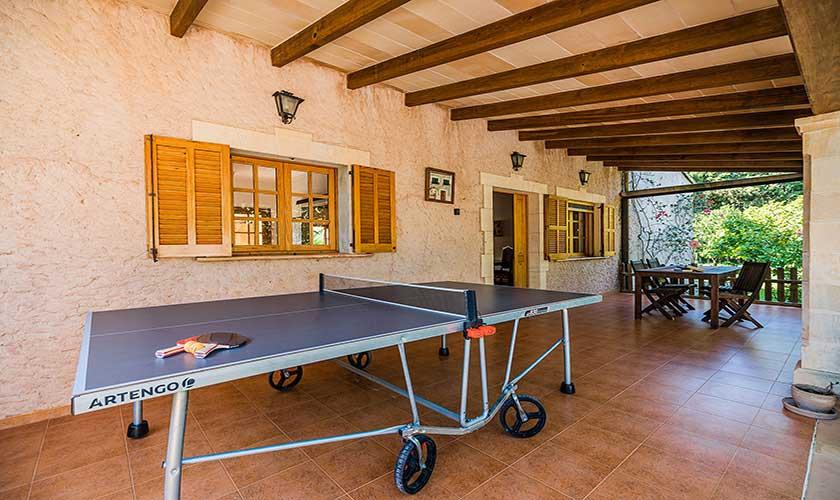 Tischtennis Ferienfinca Mallorca PM 3425