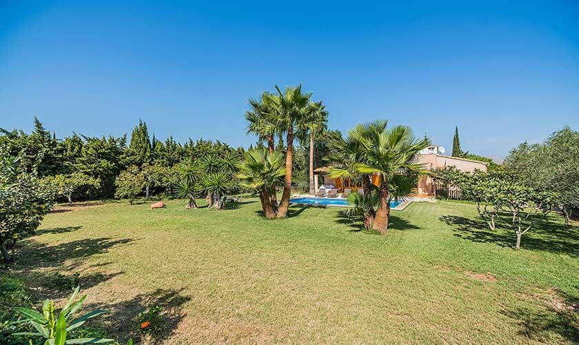 Garten Ferienfinca Mallorca PM 3425