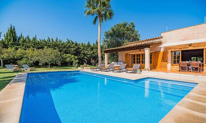 Pool und Ferienfinca Mallorca PM 3425