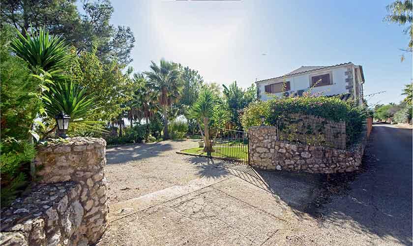 Eingang Finca Mallorca 10 Personen PM 3430