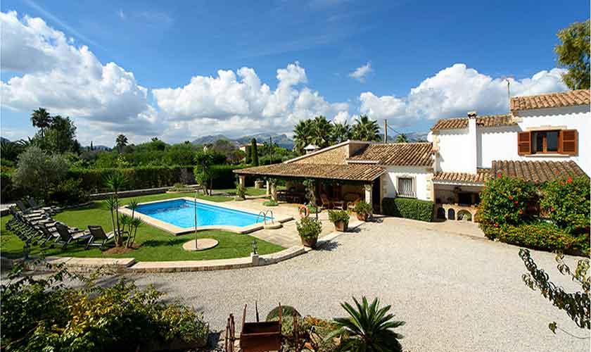 Pool und Finca Mallorca 10 Personen PM 3430