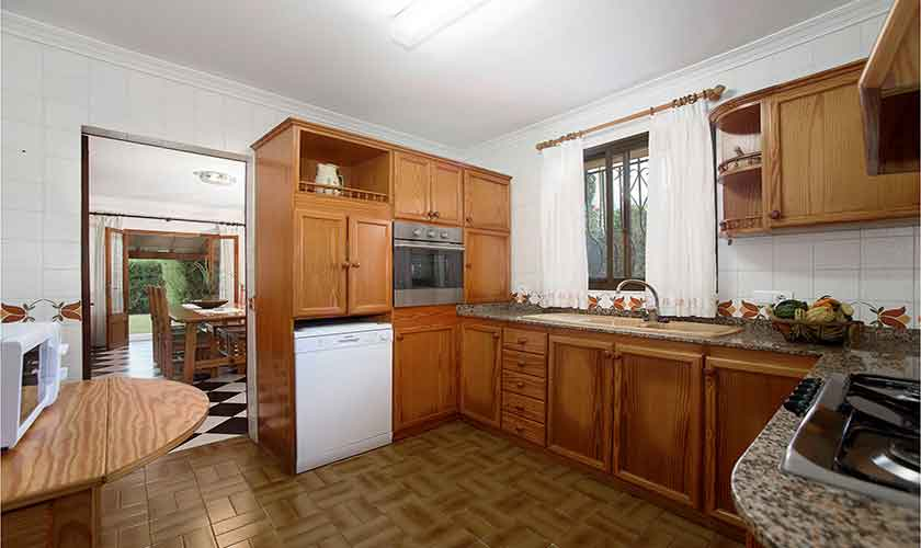Küche Finca Mallorca 10 Personen PM 3430