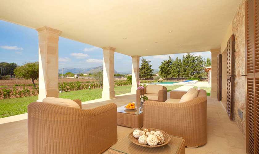 Lounge Terrasse  Finca Mallorca PM 3501