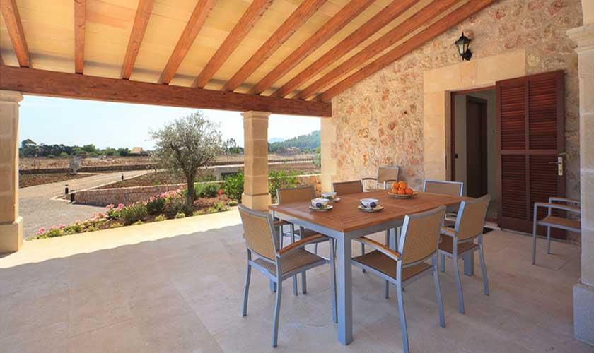 Essplatz Terrasse Finca Mallorca PM 3501