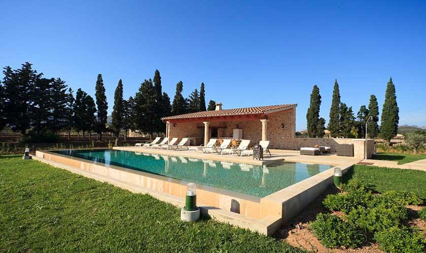 Pool und Grillhaus Finca Mallorca PM 3501