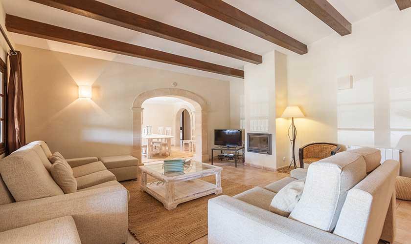 Wohnraum Finca Mallorca 6 Personen PM 3502