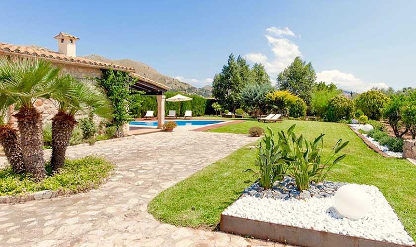 Garten Finca Mallorca 6 Personen PM 3502