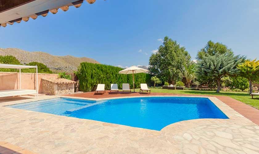 Poolblick Finca Mallorca 6 Personen PM 3502