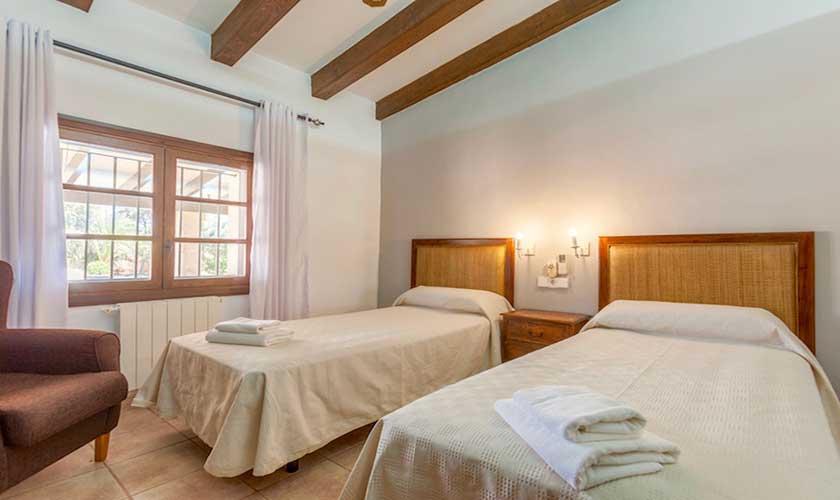Schlafzimmer Finca Mallorca 6 Personen PM 3502