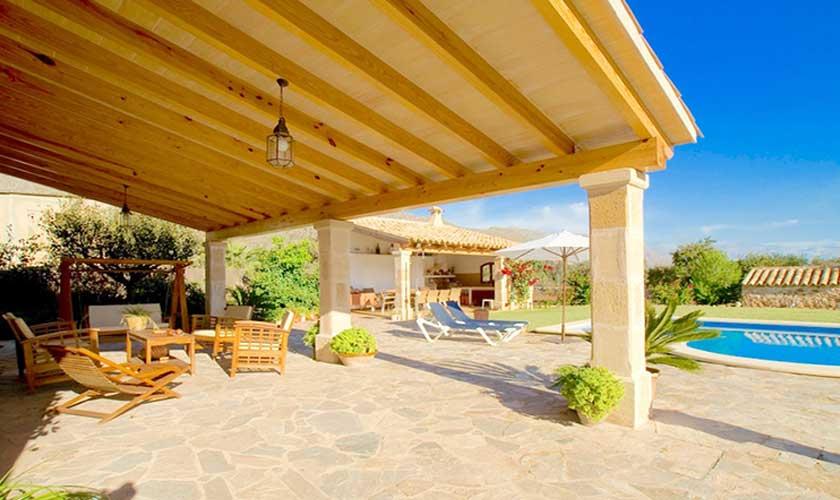 Terrasse Finca Mallorca PM 3503