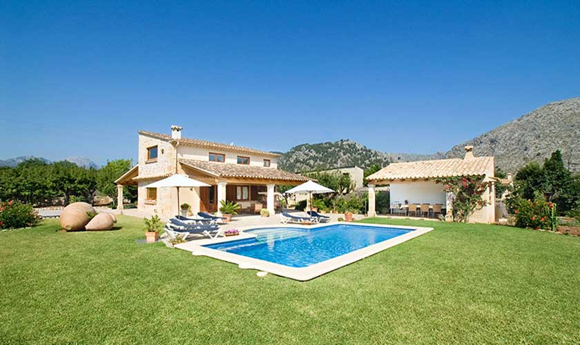 Pool und Garten Finca Mallorca PM 3503