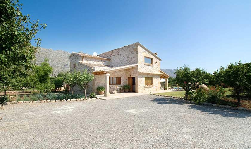 Blick auf die Finca Mallorca PM 3503
