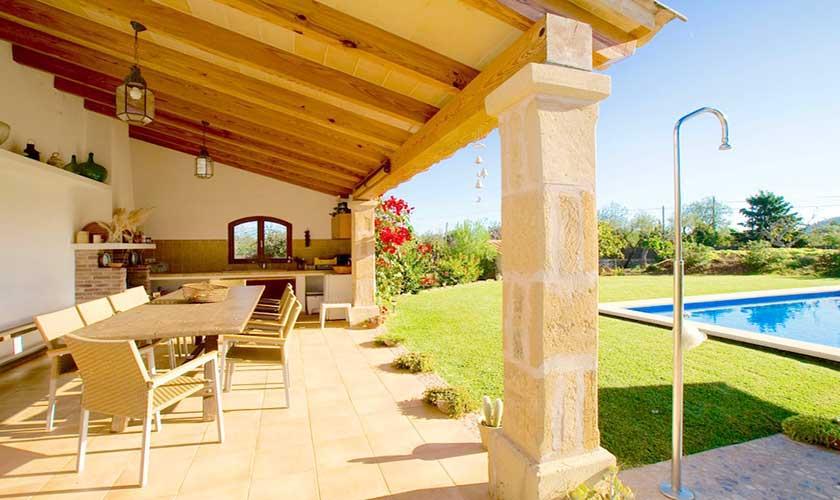 Terrasse Poolhaus Finca Mallorca PM 3503