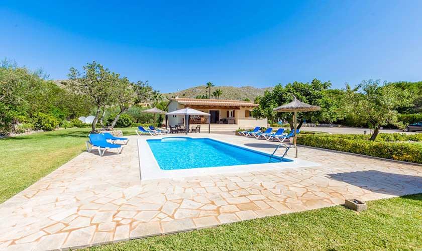 Pool und Garten Finca Mallorca PM 3504