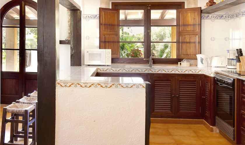 Küche Finca Mallorca Norden PM 3521