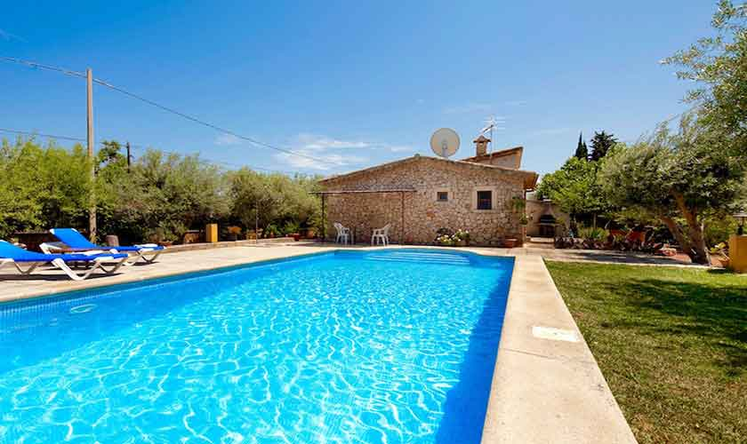 Pool und Finca Mallorca Norden PM 3521