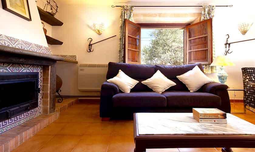 Wohnraum Finca Mallorca Norden PM 3521